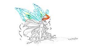 winx club bloom coloring pages how to draw winx youtube