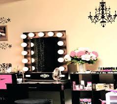 Makeup Vanity With Lighted Mirror Vanities Barbie Light Up Vanity Makeup Set Makeup Vanity