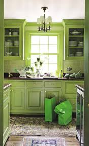 collection in light green kitchen cabinets on interior remodel
