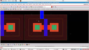 free cmos layout design software cadence tutorial layout of cmos nor gate youtube