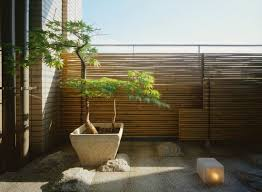 balkon bambus sichtschutz bambus balkon sichtschutz gestaltung ideen für feng shui stil