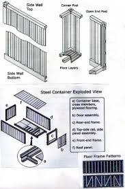 storage containers homes floor plans best 25 20 container dimensions ideas on pinterest shipping