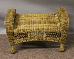wicker ottoman style u2014 the kienandsweet furnitures stylish and