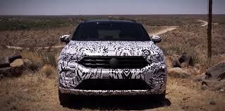 2019 volkswagen t roc teased in new video u2013 update australian