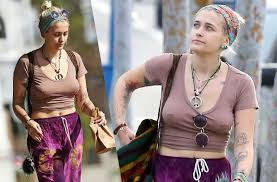 girl nipple rings images Braless paris jackson bares nipple rings in flimsy top jpg