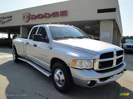 Dodge Ram Dually - 2003 bright silver metallic dodge ram 3500 slt quad cab dually