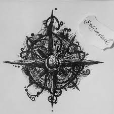 my drawing of compass compass drawing draw art