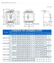 mcb shunt trip circuit breaker mccb circuit breaker 250a buy mcb