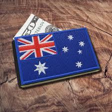 Austailia Flag Icraft Australia Flag Minimalist Pocket Wallet U2013 Icraftwallet