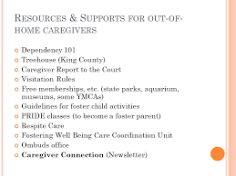 Treehouse Fostering Agency - w orking with dcfs w hat e arly i ntervention p roviders n eed to