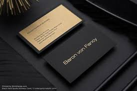 Free Business Cards Printing Brown Kraft Business Cards