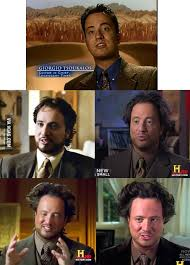 Ancient Aliens Guy Meme - just the hair evolution of ancient aliens guy 9gag