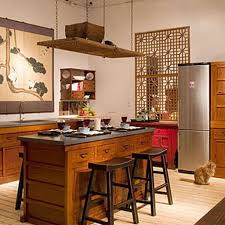 20 20 Kitchen Design by Contemporary Asian Kitchen Design With Wooden Cabinet And Black