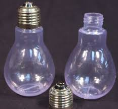 light bulb clear plastic fillable light bulbs the mouthopening of