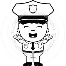 police clipart black and white clipart panda free clipart images
