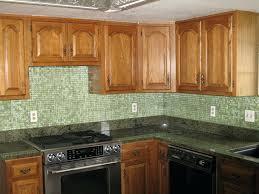 multi colored subway tile backsplash kitchen tumbled marble with