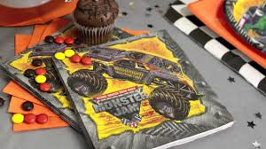 grave digger monster truck birthday party supplies monster truck jam party supplies youtube