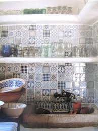 Blue Tile Kitchen Backsplash If I Could Redo My Kitchen This Is How I Would Do It With Lots