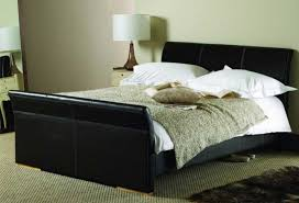 king size bed frame with headboard troy gray upholstered king bed