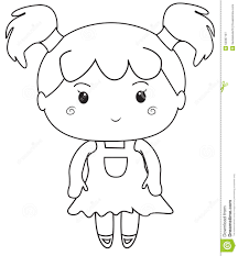 little coloring page stock illustration image 52087197