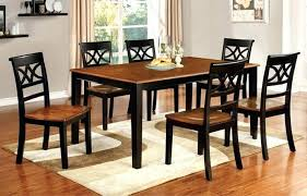 two tone dining table set furniture of t 7 collection country two tone dining room tables