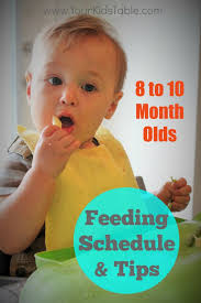 table food ideas for 9 month old feeding schedule for 8 9 and 10 month olds babies food and baby