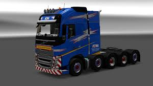 volvo heavy truck adm team heavy weight volvo fh2012 paintjob 1 27 x modhub us
