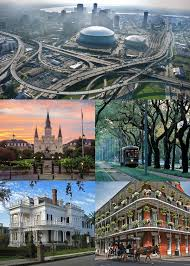 Map Of New Orleans Usa by New Orleans Wikipedia