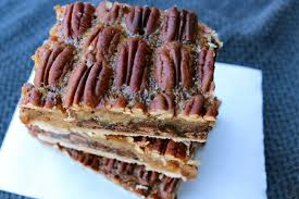 recipe thanksgiving dessert derby pie bars tsiporah