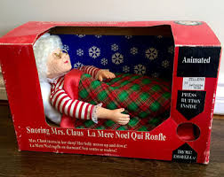 Mrs Claus Animated Christmas Decorations by Mrs Clause Etsy