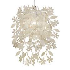 Shabby Chic Pendant Lighting by Cream Vintage Shabby Chic Style Ceiling Pendant Light Shade