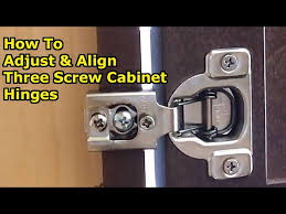 what size screws for kitchen cabinet door hinges how to align cabinet doors by adjusting 3 european