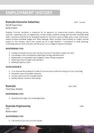 100 boilermaker resume teamwork on a resume best management