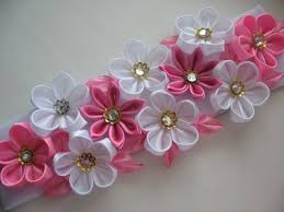 632 best kanzashi flowers images on kanzashi flowers