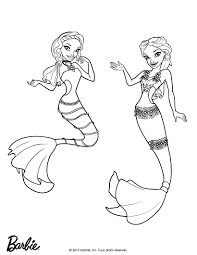 printable 24 barbie mermaid coloring pages 9515 barbie doll