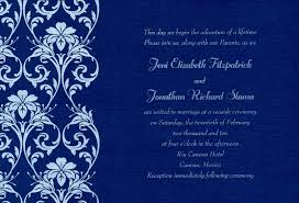 Wedding Invitation Cards Design Wedding Invitation Card Blue Background Design Yaseen For
