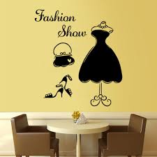 Bedroom Wall Letter Stickers Aliexpress Com Buy English Letter Fashion Show Decoration Wall