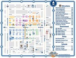 missouri map columbia mizzou alumni association cus columbia maps