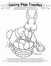 peter cottontail book coloring