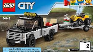 lego city jeep lego city great vehicles atv race team 60148 instructions diy book