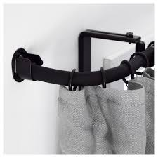 ikea curved curtain rod rooms rAcka curtain rod corner connector black ikea