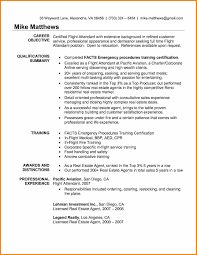 Sample Resume With References Included by Resume Format For Flight Attendant Free Resume Example And