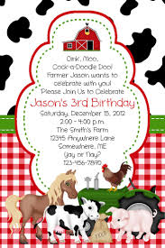 make your own party invitation farm birthday party invitations theruntime com