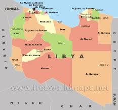 Free World Map Libya Political Map