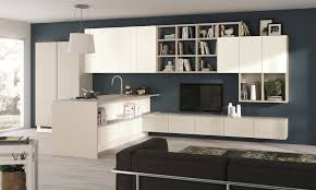Scavolini Kitchen by Fluida Integrated Kitchen Module Integrated Living Rooms Line By