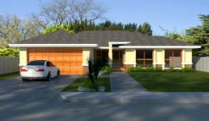 cheap 4 bedroom houses single level bedroom living areas double garage house plans