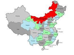 China On A Map Inner Mongolia Autonomous Region U2013 Chinafolio
