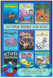 octopus books for kids ocean animals unit study u2013 3 boys and a dog