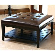 Leather Ottomans Coffee Tables by Upholstered Coffee Table Ottoman U2013 Thelt Co