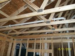 custom home construction electrical and plumbing rough in